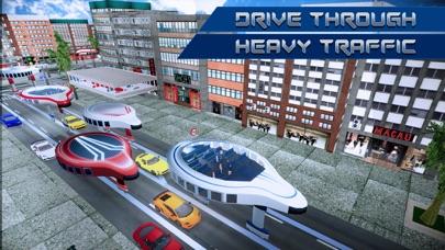 Screenshot von Gyroscopic Zukunft Reisebus2