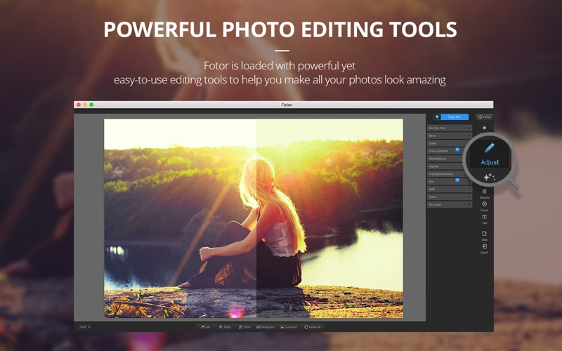 Fotor Photo Editor Offers Easy Yet Powerful Photo Editing for Mac Image