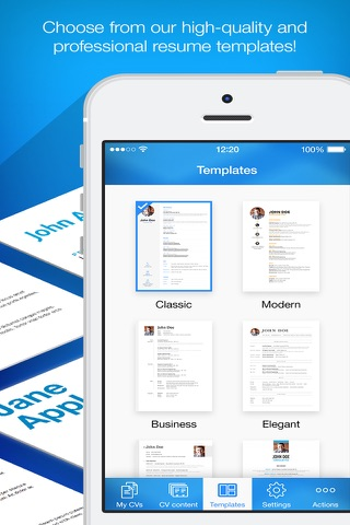 Resume Builder, Resume Creator screenshot 4