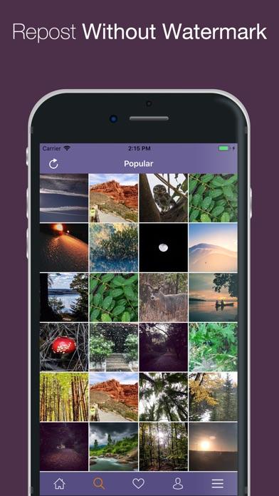 WizPost - Repost Photo & Video Screenshot