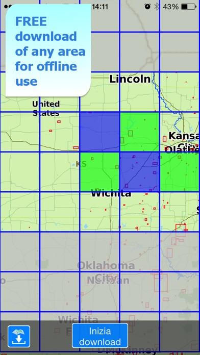 download Aqua Map Kansas Lakes GPS HD apps 1