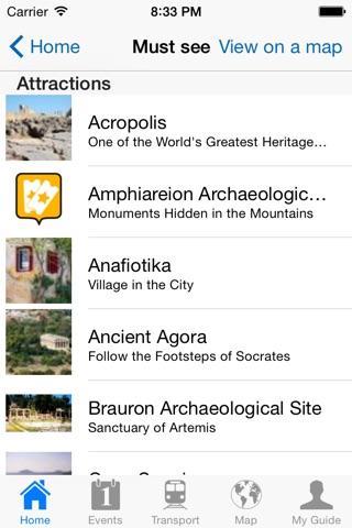 Athens Travel Guide Offline screenshot 4