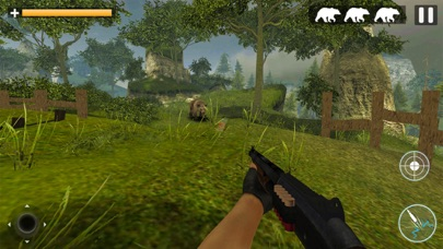 Bear Jungle Attack screenshot