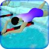 Kashif Khalil - Pool Diving Race artwork