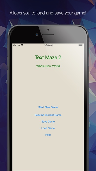 Text Maze 2 - Whole New World