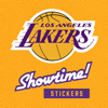 Lakers Showtime Stickers