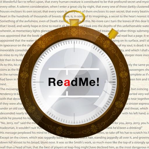 ReadMe! (Spritz & BeeLine) iOS App