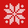 Ugly Xmas Pixel Stickers