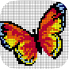 Pixel Art : Color by Number