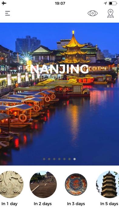 Nankin Guide de VoyageCapture d'écran de 1