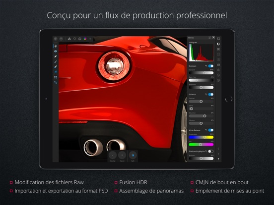 Screenshot #5 pour Affinity Photo