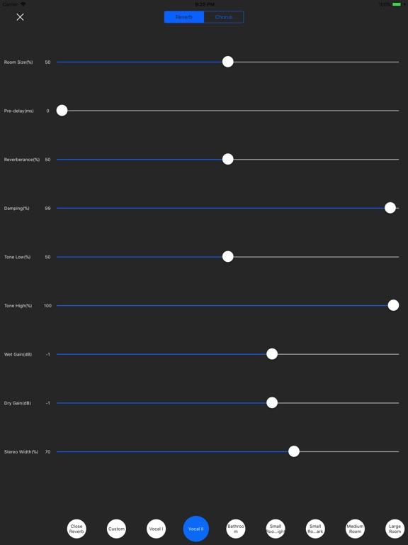Filter Recorder & Audio Editor Screenshots