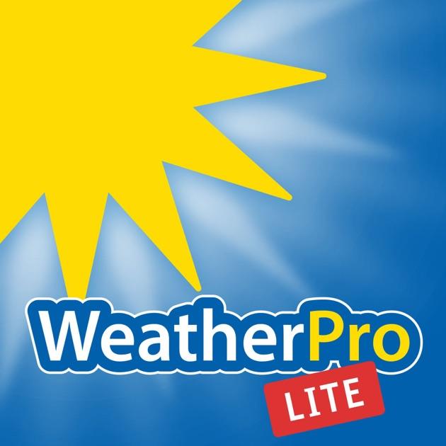 WeatherPro Lite Dans L'App Store