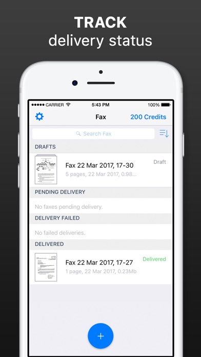 download Fax from iPhone - Send Fax App appstore review