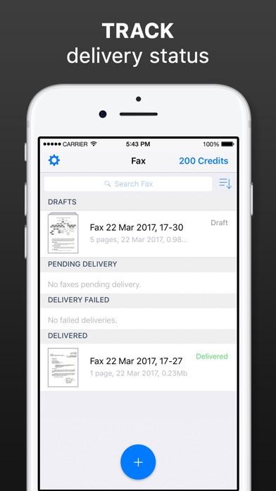 iFax - Send Fax from iPhone Screenshot 5
