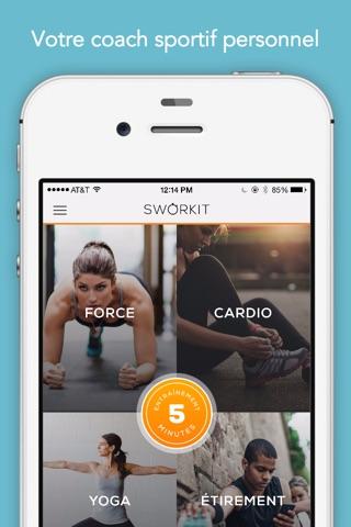 Sworkit: Workouts & Plans screenshot 1