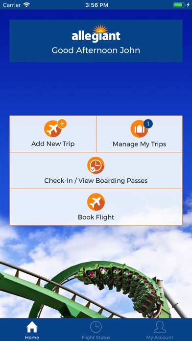 What you need to know about Allegiant Air mobile apps. Like many other airlines, Allegiant Air offers an iOS app for all of your Apple devices. The Android apps from Allegiant Air work with all Android phones and tablets from various manufacturers (Samsung, LG, Google, etc.), and Android Wear watches might also be compatible.