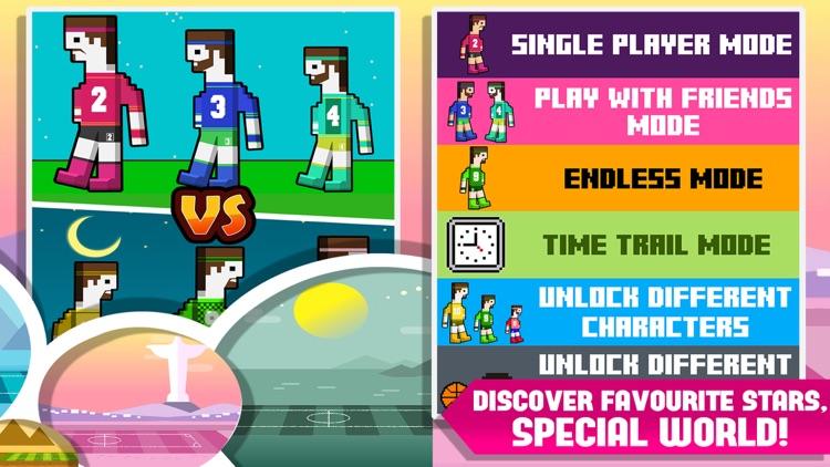 Soccer Ragdoll 2 Player Physics Games Screenshot 4