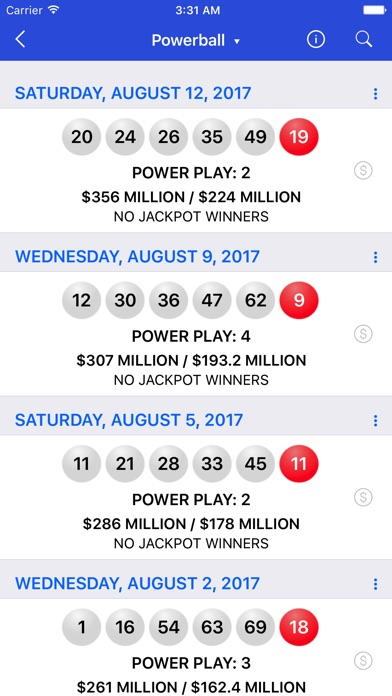 download Lotto Results + : Mega Millions Powerball Lottery apps 4