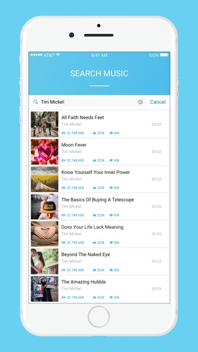 Tobidi music video streamer app report on mobile action screenshot for tobidi music video streamer in spain app store solutioingenieria Image collections