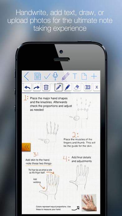 Meeting Box - Notes, Tasks, Sketches & Recordings Screenshot