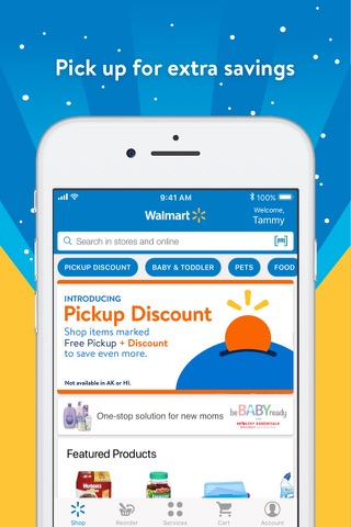 Walmart – Shopping and Saving screenshot 1