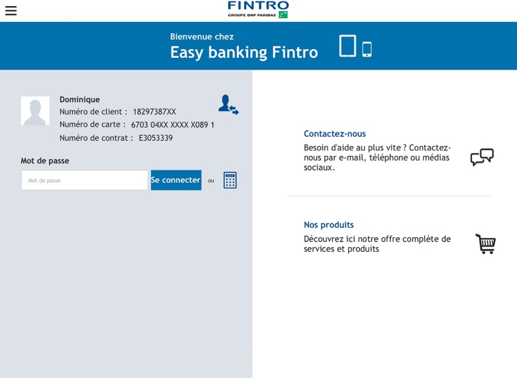 fintro easy banking