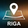 Riga, Latvia, Offline Auto GPS App