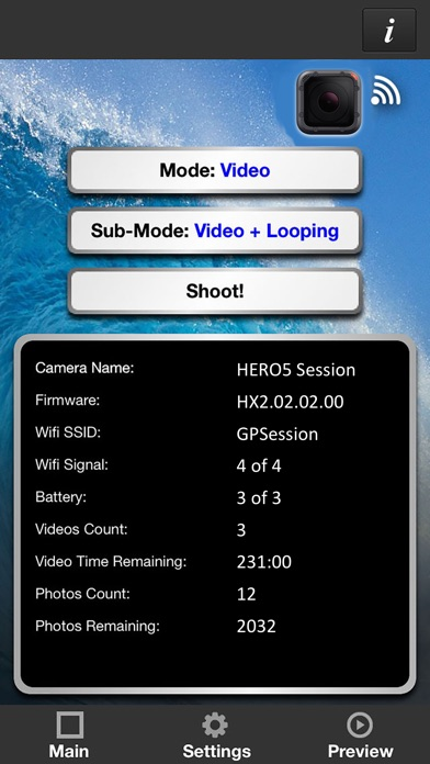 download Remote Control for GoPro 5 Session apps 0