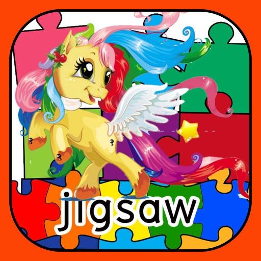 Princess Horse Jigsaw Puzzle Skill GameFor Toddler iOS App