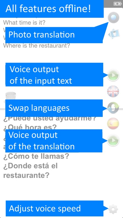 Offline Translator Pro 8 lang Screenshots