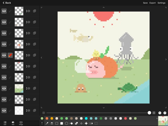pixel art editor   dottable   on the app store