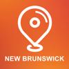New Brunswick, Canada - Offline Car GPS App