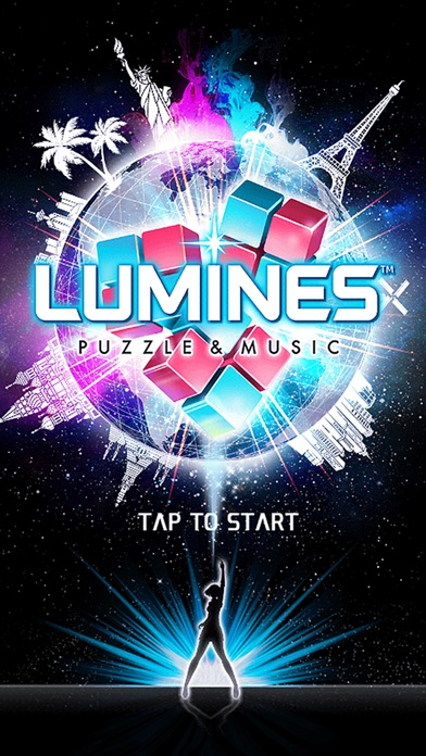 LUMINES PUZZLE & MUSIC Screenshot