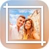 White frames for Insta - Square photo frame