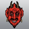 Demon : Dark, Evil, Scary Poltergeist Stickers