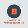 Carnet d'adresses Convertisseur de Fichier TXT