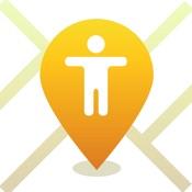 Найти человека на карте