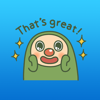 Cyril The Cute Green Monster English Stickers Wiki