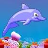 Dolphin YikYak - Swim in the sea collect stars