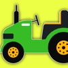 Kids Games Coloring Pages Tractor Version