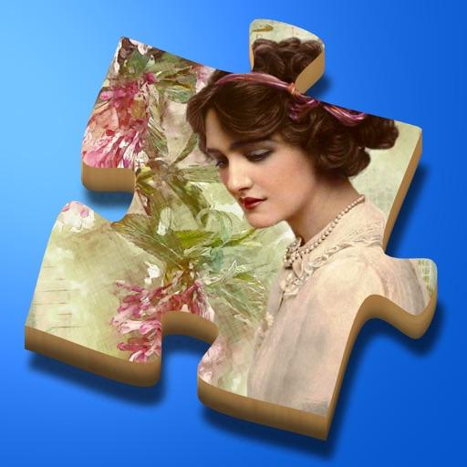 Super Jigsaws Flower Art iOS App