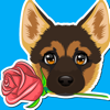 www.HobbyApps.com - German Shepard Emoji  artwork