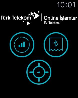 Online İşlemler - Ev Telefonu Screenshot