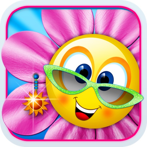 Singing Daisies - a dress up and make up games for kids iOS App