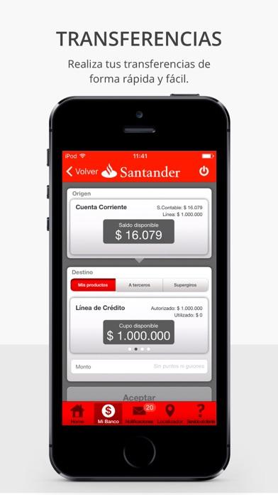 Santander chile en app store for Localizador de sucursales santander