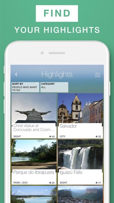 Brazil - Travel Guide & Offline MapScreenshot of 2