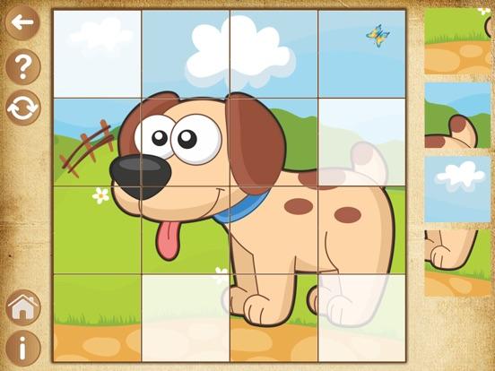 Пазлы детские. Развивающие игры для детей, малышей для iPad