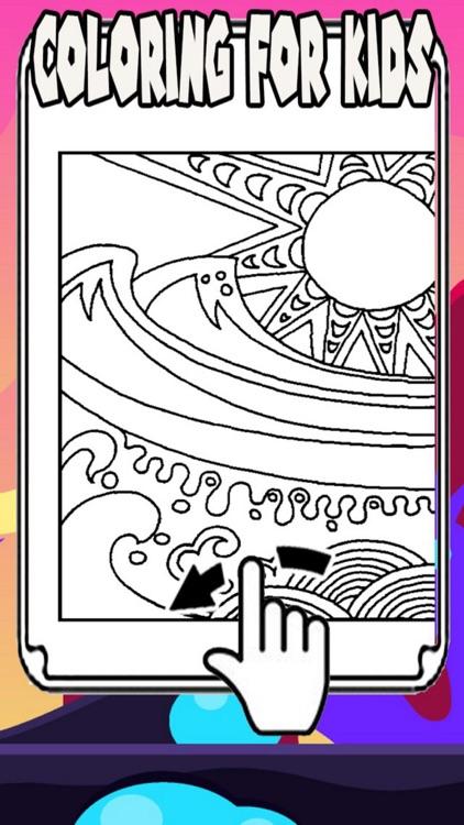 Ocean - Zoo Coloring Books Painting App for Kids by chuppawit sukkaya