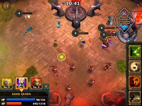 Игра Legendary Heroes - offline MOBA